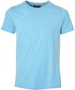 sale - Lion t-shirt - slim fit - blauw