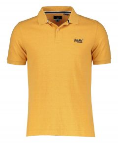 Superdry polo - slim fit - oker