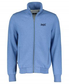 Superdry vest - slim fit - blauw