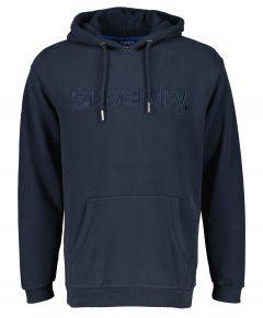 Superdry sweater - modern fit - blauw