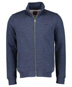 Superdry vest - modern fit - blauw
