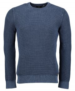 Superdry pullover - slim fit - blauw