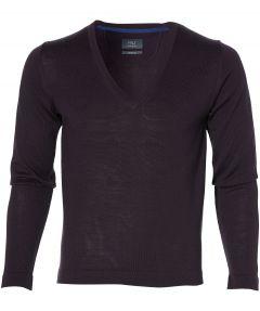 sale - Nils pullover - slim fit - paars