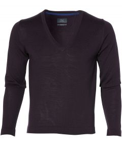 sale - Nils pullover - extra lang  - paars