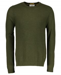 New in Town pullover - slim fit - groen