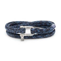 Pig & Hen armband - Salty Steve - blauw