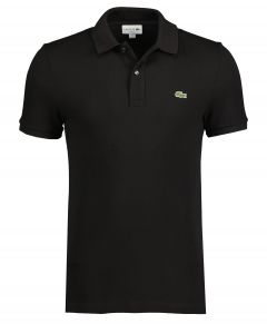 Lacoste polo - slim fit - zwart