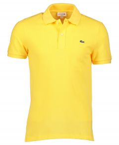 Lacoste polo - slim fit - geel