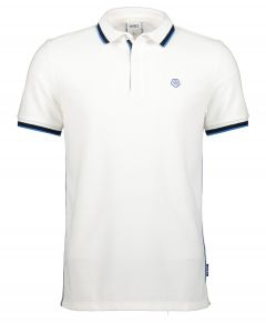 Qubz polo - modern fit - wit