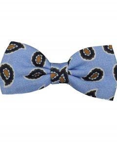 Jac Hensen strik - blauw