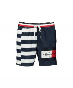 Tommy Jeans zwemshort - slim fit - blauw