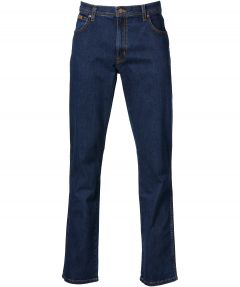 Wrangler 5-pocket jeans Texas stretch blauw