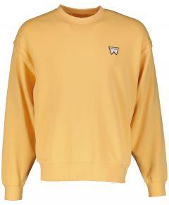 Wrangler sweater - modern fit - geel