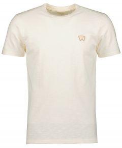 Wrangler t-shirt - modern fit - beige