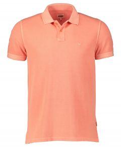 Wrangler polo - modern fit - oranje