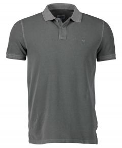 Wrangler polo - modern fit - grijs