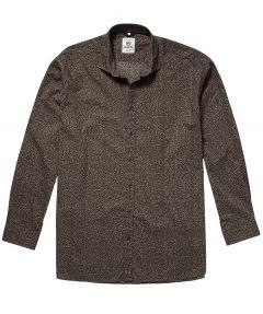 sale - Lerros overhemd - regular fit - beige