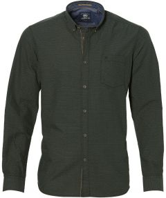 sale - Lerros overhemd - modern fit - groen