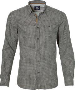 sale - Lerros overhemd - modern fit - grijs
