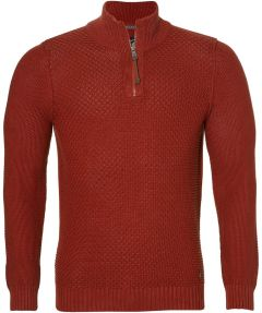 sale - Lerros polo - regular fit - rood