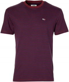 Tommy Jeans t-shirt - slim fit - bordeaux