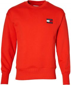 Tommy Jeans pullover - modern fit - rood