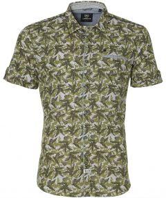 Lerros overhemd - modern fit - groen