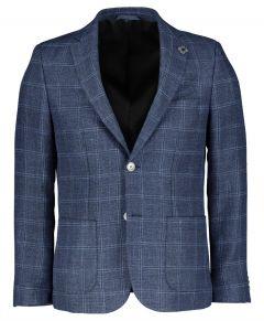 Gentiluomo colbert - slim fit - blauw