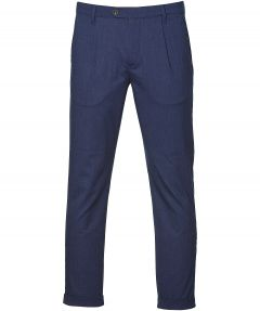 Ted Baker pantalon - slim fit - blauw