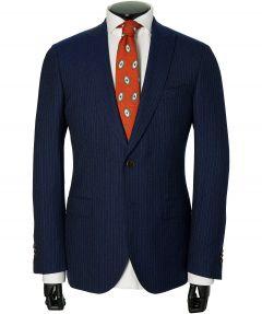 Jac Hensen Premium kostuum -modern fit-blauw