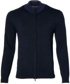 Gentiluomo vest - slim fit - blauw