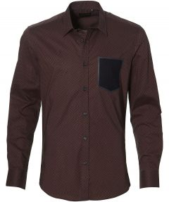 Antony Morato overhemd - slim fit - bordeaux