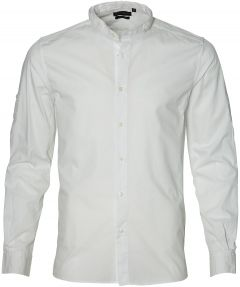 sale - Antony Morato overhemd - slim fit - wit