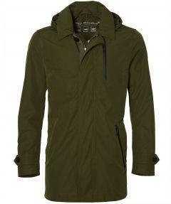 Reset halflange jas - modern fit - groen