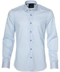sale - Nils overhemd - extra lang - blauw