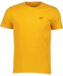 New in Town t-shirt - slim fit - geel