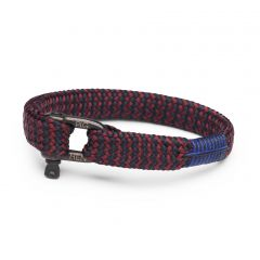 Pig & Hen armband - Sharp Simon - bordeaux
