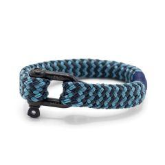 Pig & Hen armband - Gorgeous George- blauw