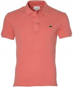Lacoste polo - slim fit - zalm