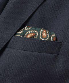 Hensen pochet - groen - dessin