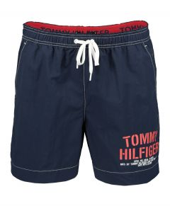 Tommy Jeans zwemshort - slim fit - blauw