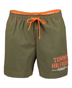 Tommy Jeans zwemshort - slim fit - groen