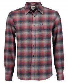 Wrangler overhemd - modern fit - rood