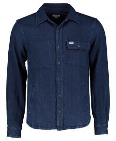 Wrangler overshirt - modern fit - blauw